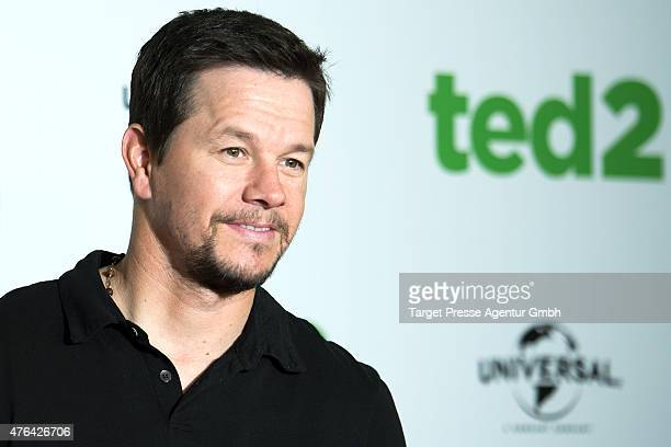 Actor Mark Wahlberg attends the 'Ted 2' Berlin photocall at Ritz Carlton on June 9 2015 in Berlin Germany