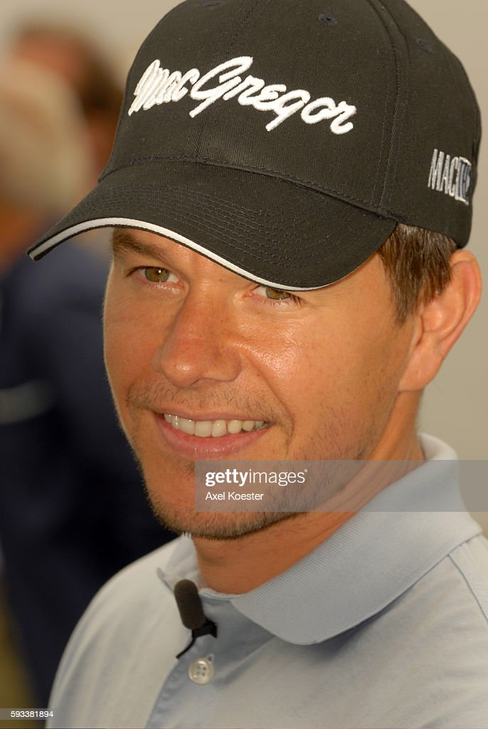 Actor Mark Wahlberg plays at the Ninth Annual Michael Douglas Friends Celebrity Golf Tournament at the Trump National Golf Club in Rancho Palos...