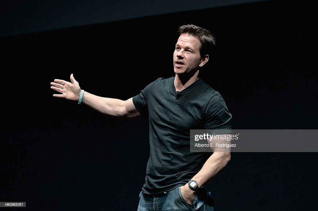Actor <a gi-track='captionPersonalityLinkClicked' href=/galleries/search?phrase=Mark+Wahlberg&family=editorial&specificpeople=202265 ng-click='$event.stopPropagation()'>Mark Wahlberg</a> speaks onstage during CinemaCon 2014 Off and Running: Opening Night Studio Presentation from Paramount Pictures at Caesars Palace during CinemaCon 2014 on March 24, 2014 in Las Vegas, Nevada.