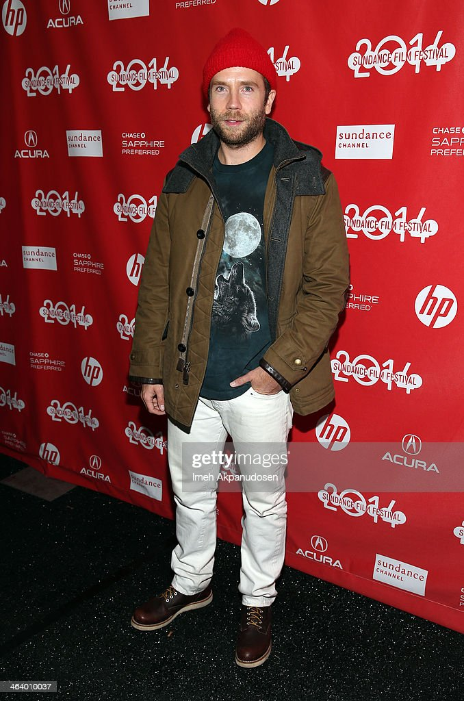 Actor Mark Webber attends the 'Happy Christmas' premiere at Library Center Theater during the 2014 Sundance Film Festival on January 19, 2014 in Park City, Utah.
