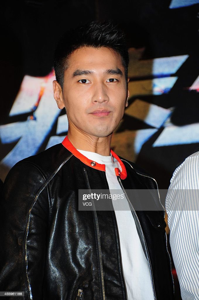 Actor <a gi-track='captionPersonalityLinkClicked' href=/galleries/search?phrase=Mark+Zhao&family=editorial&specificpeople=969876 ng-click='$event.stopPropagation()'>Mark Zhao</a> arrives at the red carpet for 'Black and White: The Dawn of Justice/Black & White Episode 2' Premiere Press Conference on September 22, 2014 in Shanghai, China.