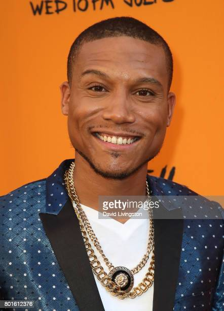 Actor Markice Moore attends the premiere of FX's 'Snowfall' at The Theatre at Ace Hotel on June 26 2017 in Los Angeles California