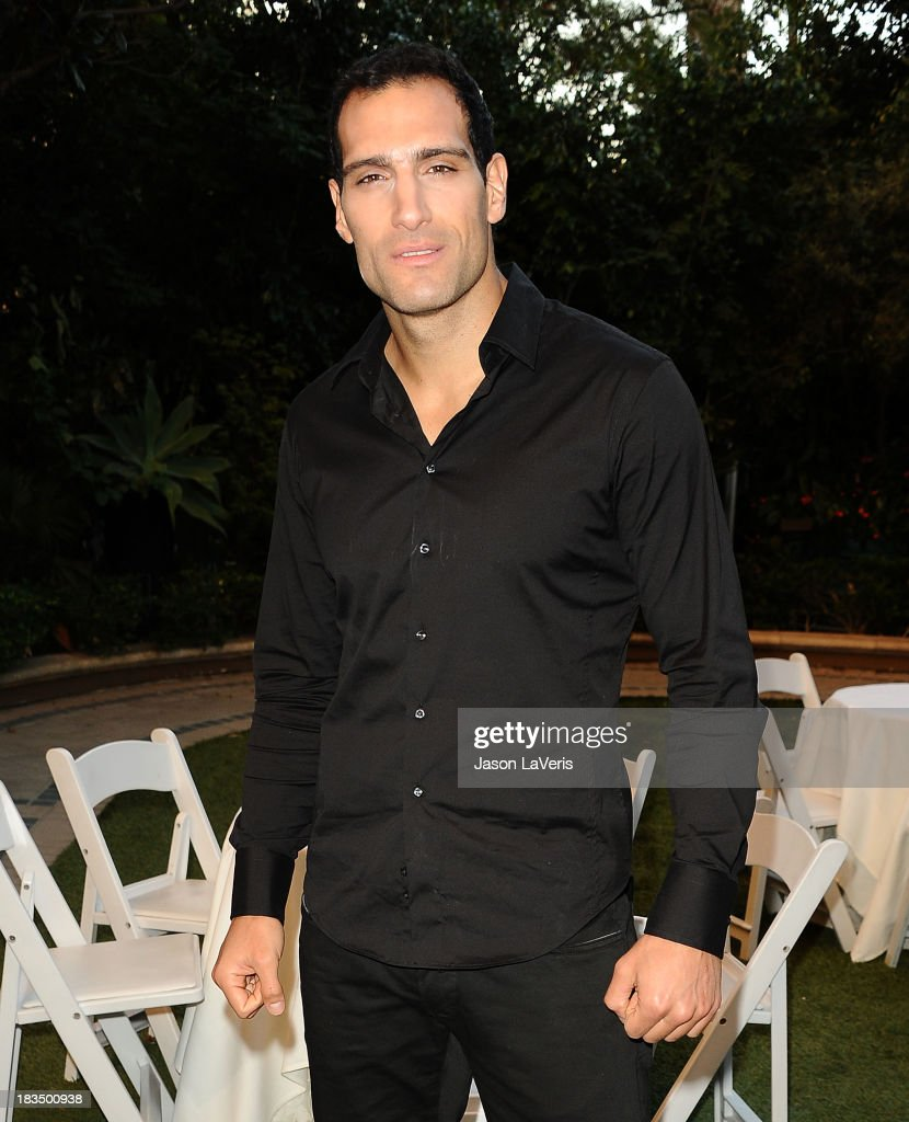 Actor Marko Zaror attends the 'Machete Kills' press conference at Four Seasons Hotel Los Angeles at Beverly Hills on October 6, 2013 in Beverly Hills, California.