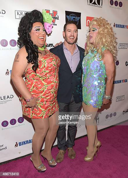 Actor MarkPaul Gosselaar attends the 2014 Best In Drag Show at the Orpheum Theatre on October 5 2014 in Los Angeles California