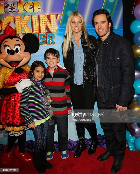 Actor MarkPaul Gosselaar attends the Disney On Ice 'Rockin' Ever After' at Staples Center on December 12 2013 in Los Angeles California