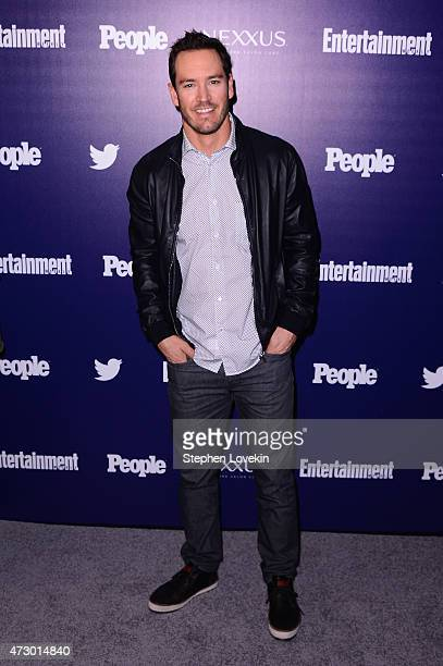 Actor MarkPaul Gosselaar attends the Entertainment Weekly and PEOPLE celebration of The New York Upfronts at The Highline Hotel on May 11 2015 in New...