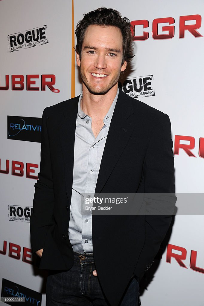 Actor Mark-Paul Gosselaar attends the premiere of 'MacGruber' at Landmark's Sunshine Cinema on May 19, 2010 in New York City.