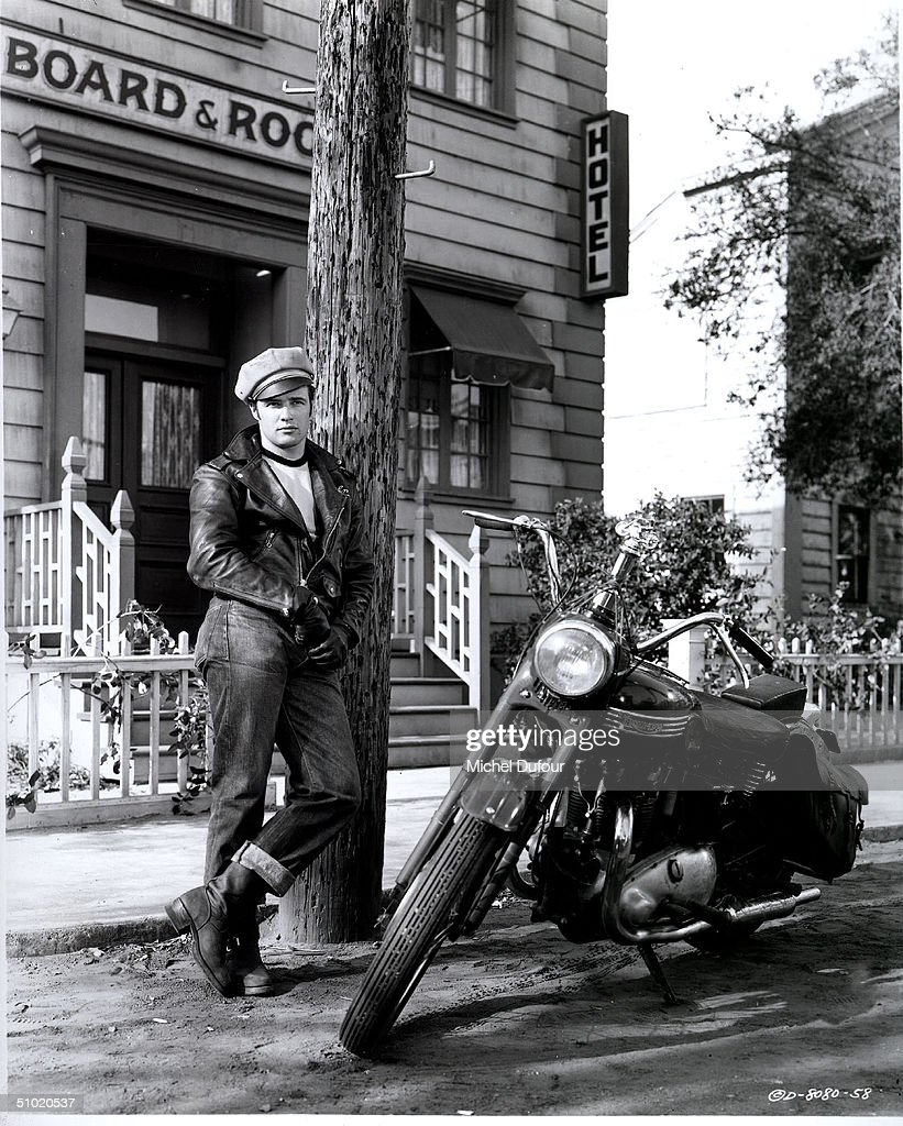 Actor Marlon Brando is seen in the movie The Wild One in 1953. Brando's attorney announced July 2, 2004 that the 80 year-old actor died in a Los Angeles, California hospital.