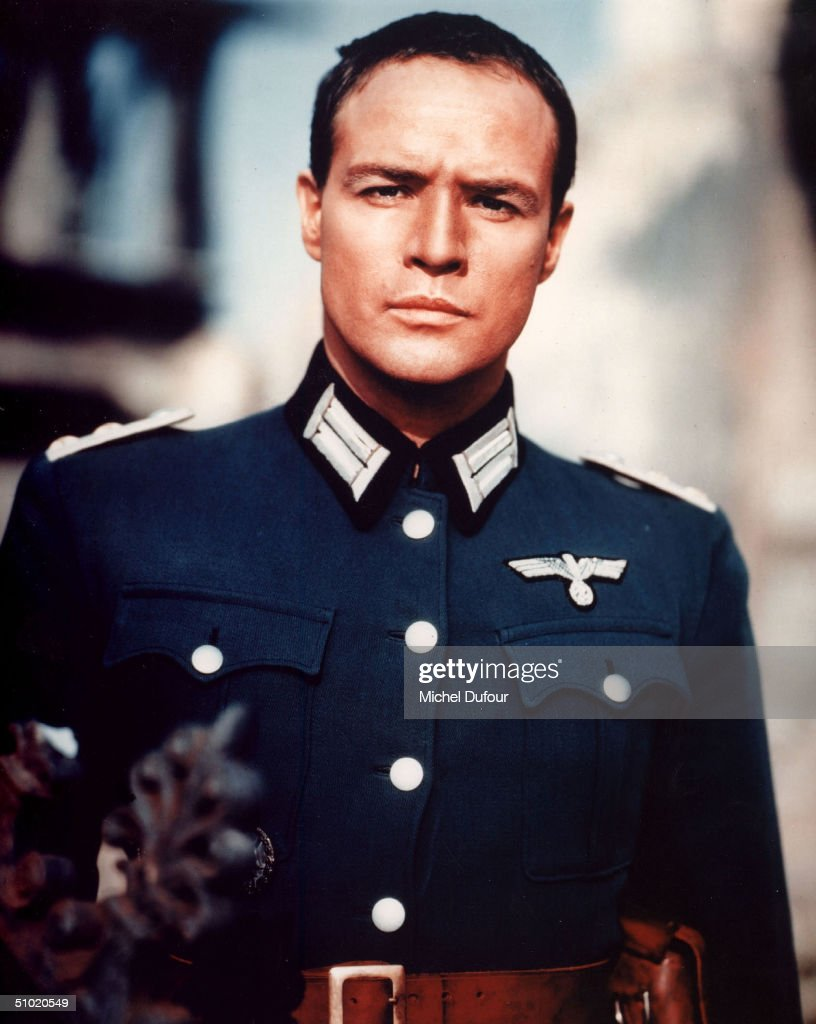 Actor Marlon Brando is seen in the movie The Young Lions in 1958. Brando's attorney announced July 2, 2004 that the 80 year-old actor died in a Los Angeles, California hospital.