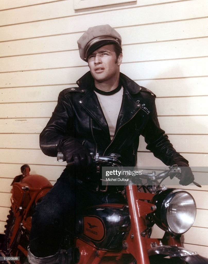 Actor Marlon Brando is seen in this undated photo for the movie The Wild One. Brando's attorney announced July 2, 2004 that the 80 year-old actor died in a Los Angeles, California hospital.
