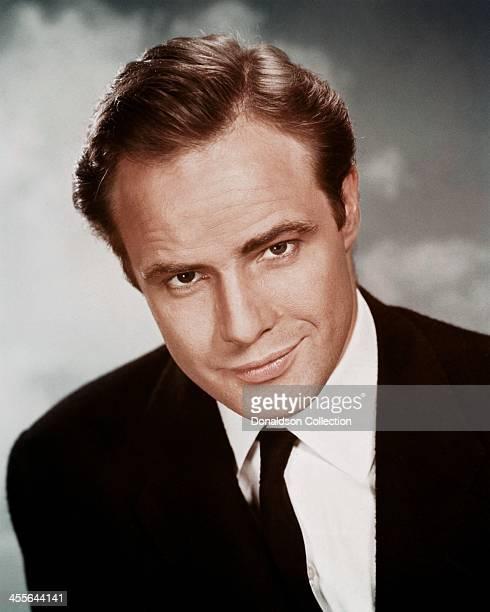 Actor Marlon Brando poses for a portrait circa 1960