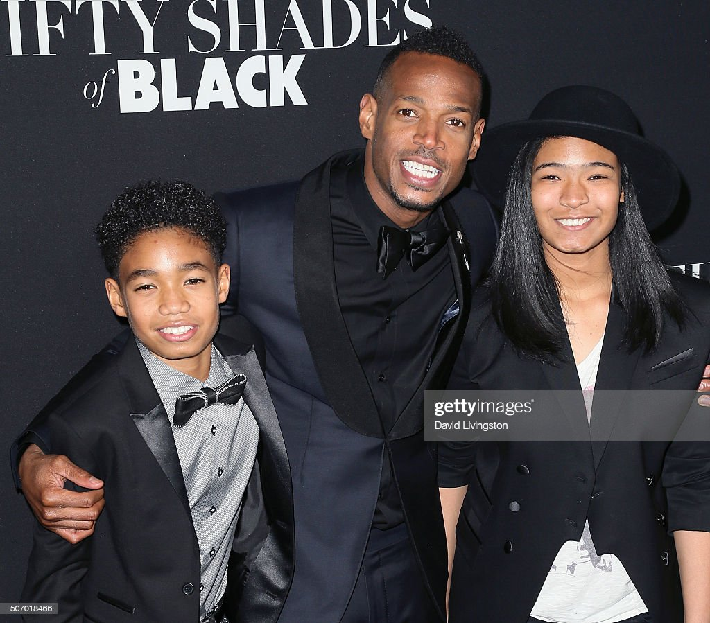 Actor Marlon Wayans  C...