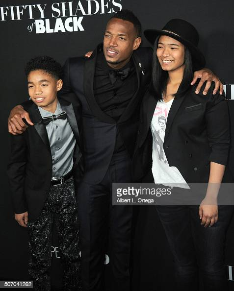 Marlon Wayans and chil...