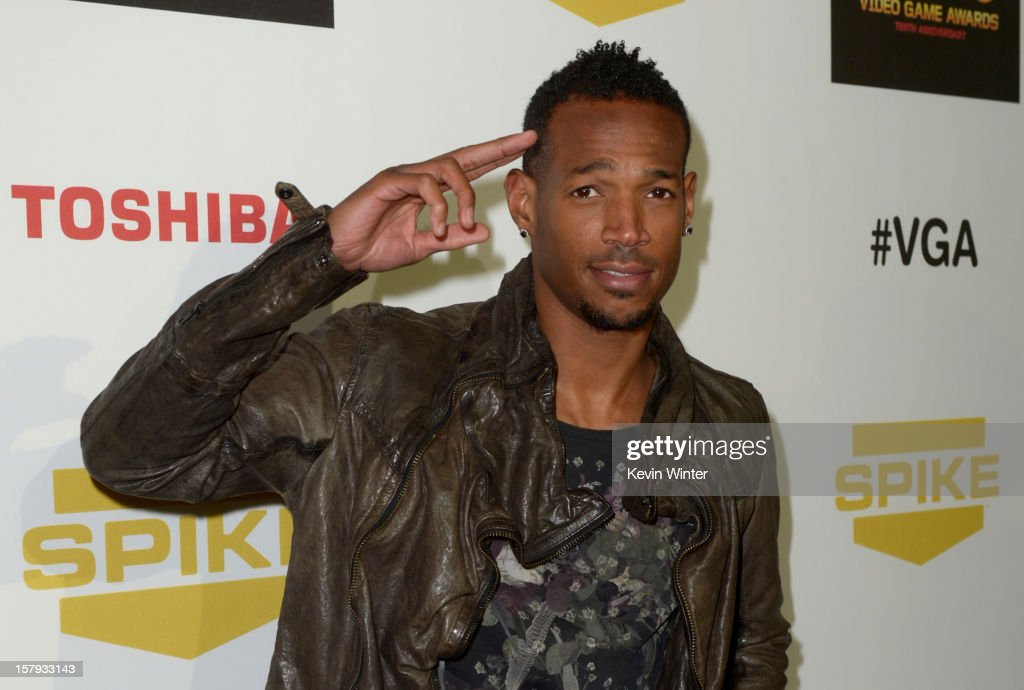 Actor Marlon Wayans arrives at Spike TV's 10th annual Video Game Awards at Sony Pictures Studios on December 7 2012 in Culver City California