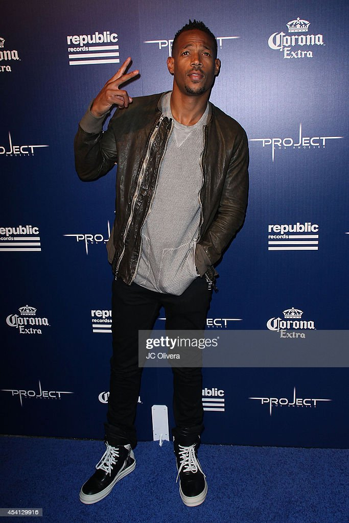 Actor <a gi-track='captionPersonalityLinkClicked' href=/galleries/search?phrase=Marlon+Wayans&family=editorial&specificpeople=203226 ng-click='$event.stopPropagation()'>Marlon Wayans</a> attends Republic Records Official VMA After Party Red Carpet at Project La on August 24, 2014 in Los Angeles, California.