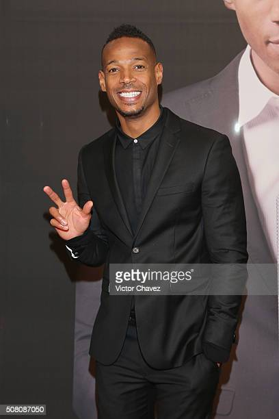 Actor Marlon Wayans attends the '50 Shades Of Black' Mexico City premiere at Cinepolis Diana on February 2 2016 in Mexico City Mexico