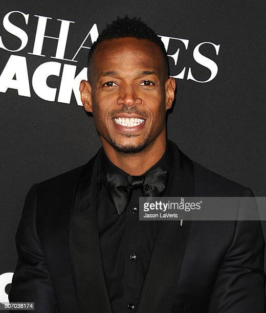 Actor Marlon Wayans attends the premiere of 'Fifty Shades of Black' at Regal Cinemas LA Live on January 26 2016 in Los Angeles California