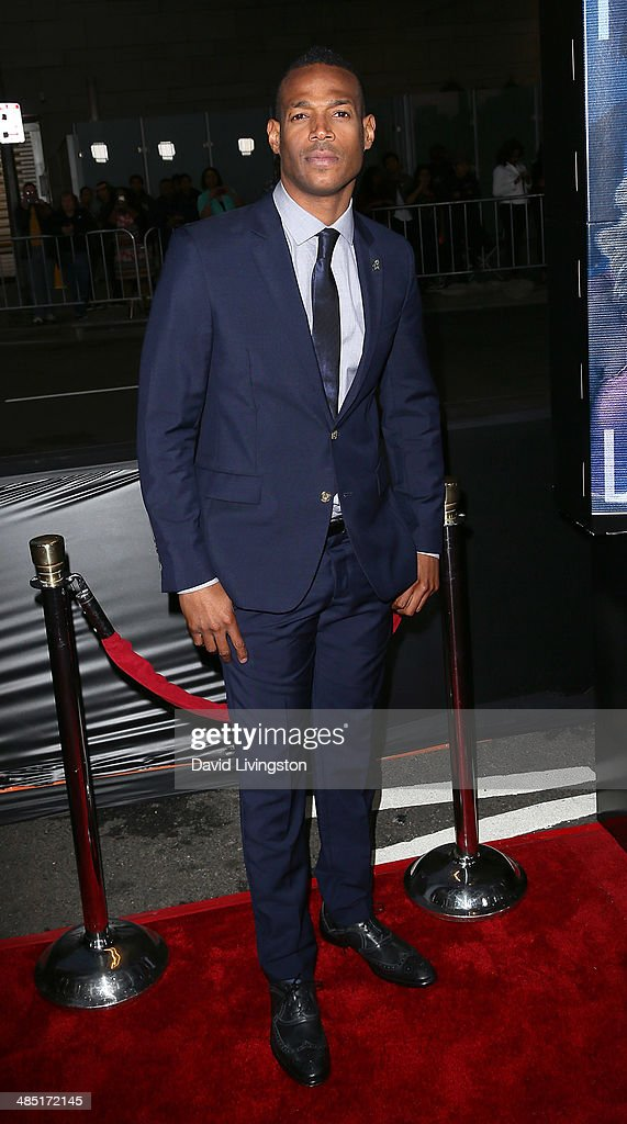 Actor <a gi-track='captionPersonalityLinkClicked' href=/galleries/search?phrase=Marlon+Wayans&family=editorial&specificpeople=203226 ng-click='$event.stopPropagation()'>Marlon Wayans</a> attends the premiere of Open Road Films' 'A Haunted House 2' at Regal Cinemas L.A. Live on April 16, 2014 in Los Angeles, California.