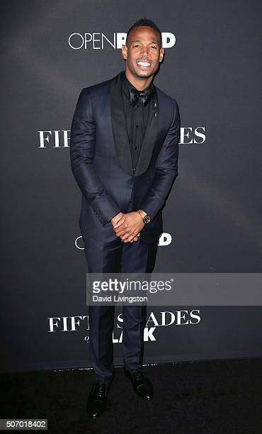 Actor Marlon Wayans attends the premiere of Open Roads Films' 'Fifty Shades of Black' at Regal Cinemas LA Live on January 26 2016 in Los Angeles...