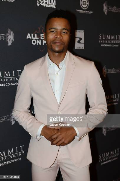 Actor Marque Richardson attends at the All Eyez on Me ABFF Screening at Regal South Beach Cinema on June 17 2017 in Miami Beach Florida