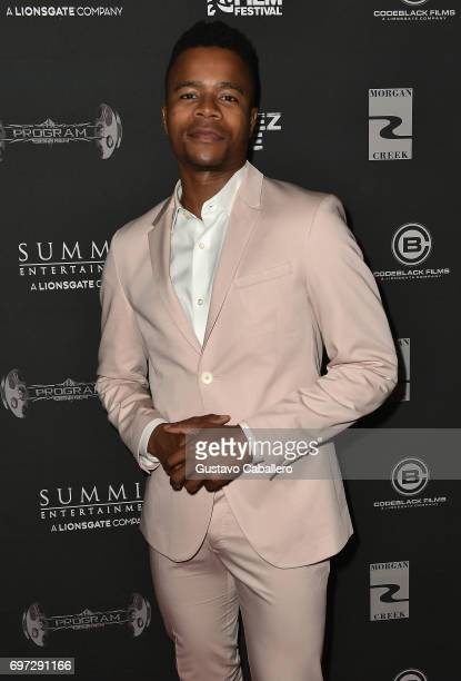 Actor Marque Richardson attends at the All Eyez on Me ABFF Screening at Regal South Beach Cinema on on June 17 2017 in Miami Florida