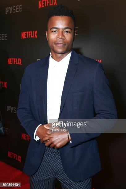 Actor Marque Richardson attends Netflix's 'Dear White People' For Your Consideration Event at Netflix FYSee Space on June 4 2017 in Beverly Hills...