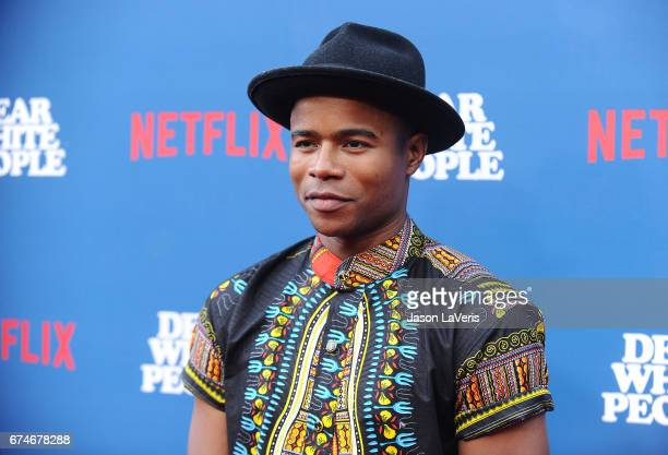 Actor Marque Richardson attends the premiere of 'Dear White People' at Downtown Independent on April 27 2017 in Los Angeles California
