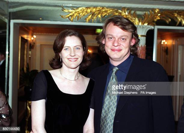 Actor Martin Clunes and his wife Philippa Braithwaite at the 1998 London Film Critics' Circle Awards at the Dorchester Hotel in London