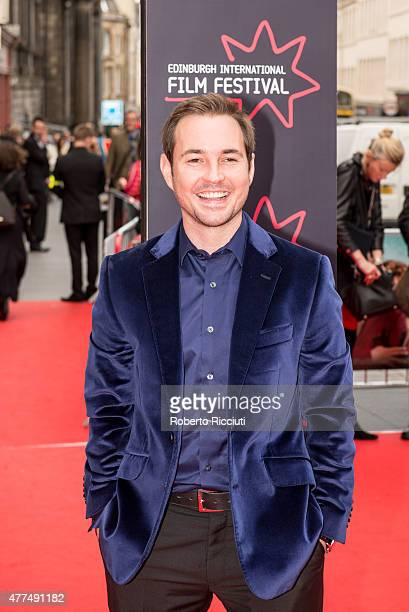 Actor Martin Compston attends the Opening Night Gala and World Premiere of 'The Legend of Barney Thomson' during the Edinburgh International Film...