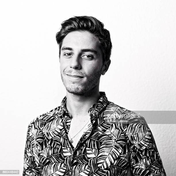 Actor Martin Darondeau is photographed for Self Assignment on August 23 2017 in Angouleme France
