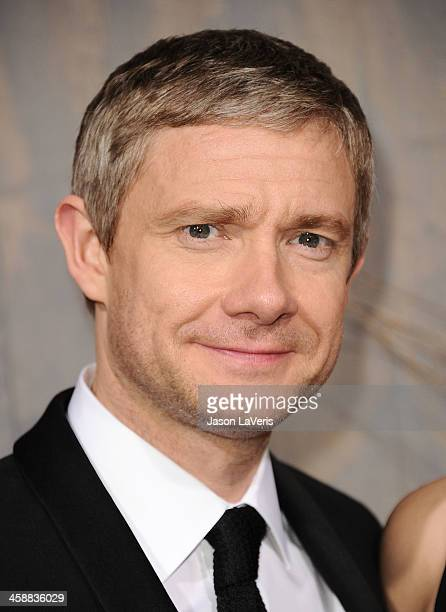 Actor Martin Freeman attends the premiere of 'The Hobbit The Desolation Of Smaug' at TCL Chinese Theatre on December 2 2013 in Hollywood California