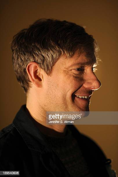 Actor Martin Freeman is photographed for Los Angeles Times on December 7 2012 in New York City