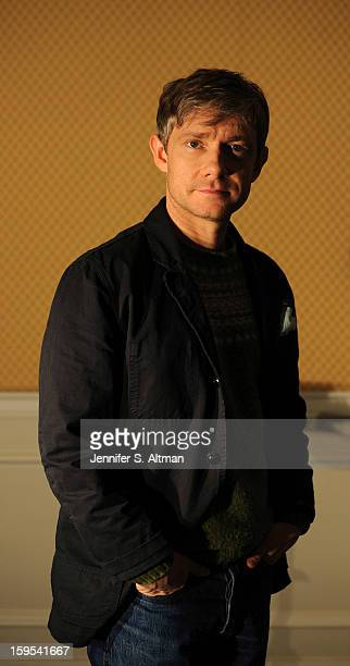 Actor Martin Freeman is photographed for Los Angeles Times on December 7 2012 in New York City PUBLISHED IMAGE