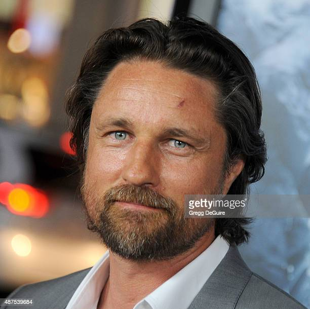 Actor Martin Henderson arrives at the premiere of Universal Pictures' 'Everest' at TCL Chinese 6 Theatres on September 9 2015 in Hollywood California
