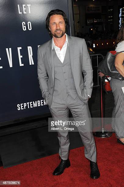 Actor Martin Henderson arrives for the Premiere Of Universal Pictures' 'Everest' held at TCL Chinese 6 Theatres on September 9 2015 in Hollywood...