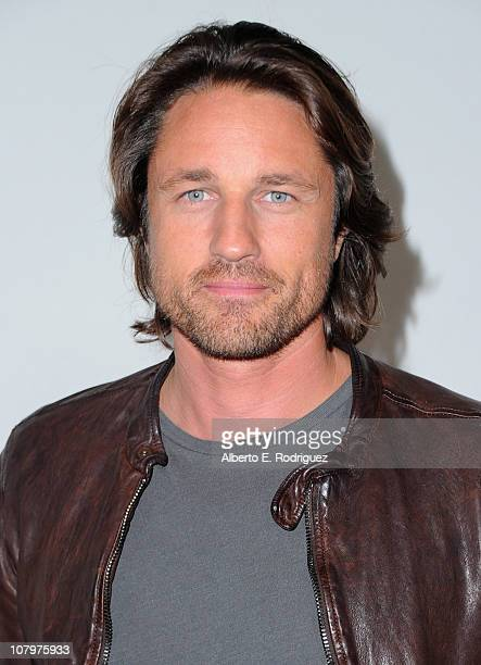 Actor Martin Henderson arrives to Disney ABC Television Group's TCA 'Winter Press Tour' on January 10 2011 in Pasadena California