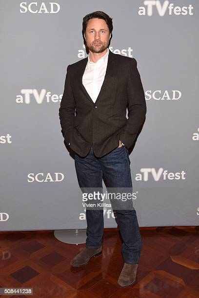 Actor Martin Henderson attends 'Grey's Anatomy' event during aTVfest 2016 presented by SCAD on February 4 2016 in Atlanta Georgia