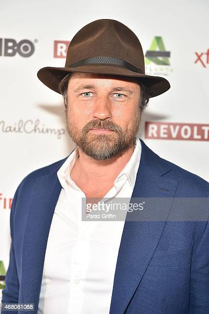 Actor Martin Henderson attends the screening of 'Red Road' at the 2015 Atlanta Film Festival at The Plaza Theatre on March 29 2015 in Atlanta Georgia