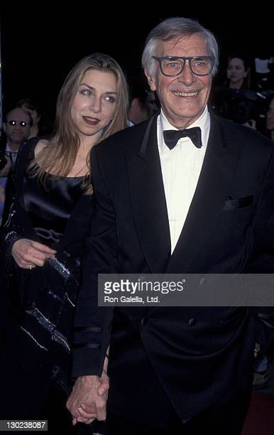 Actor Martin Landau and daughter Juliet Landau attend 22nd Annual People's Choice Awards on March 10 1996 at Universal Studios in Universal City...