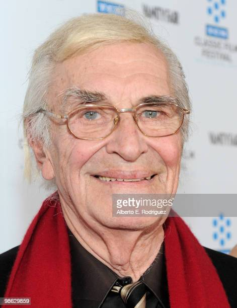Actor Martin Landau arrives at the TCM Classic Film Festival's gala opening night world premiere of the newly restored film 'A Star Is Born' at...