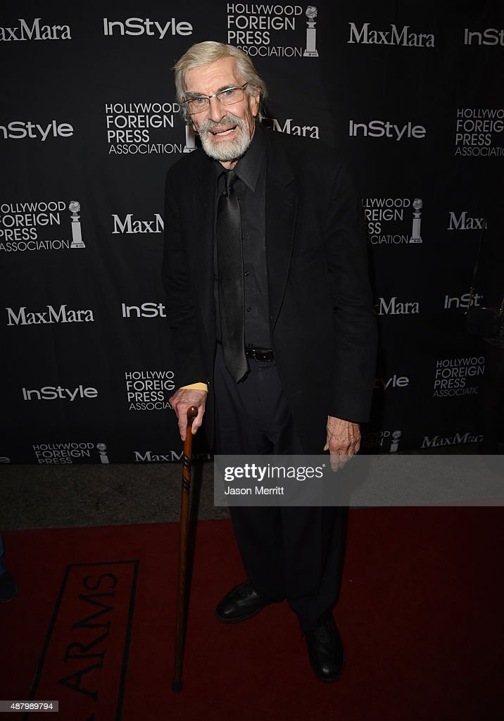 Actor Martin Landau attends the InStyle & HFPA party during the 2015 Toronto International Film Festival at the Windsor Arms Hotel on September 12, 2015 in Toronto, Canada.