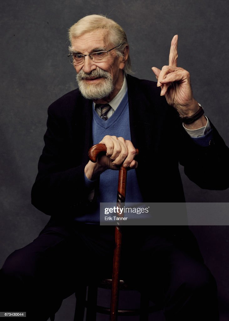 Actor Martin Landau from 'The Last Poker Game' poses at the 2017 Tribeca Film Festival portrait studio on on April 24, 2017 in New York City.