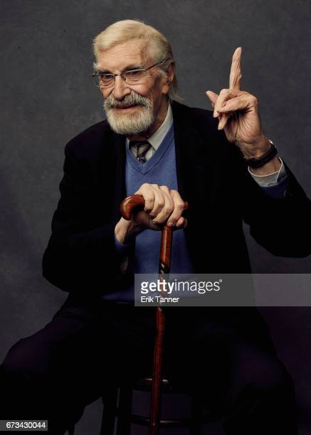 Actor Martin Landau from 'The Last Poker Game' poses at the 2017 Tribeca Film Festival portrait studio on on April 24 2017 in New York City