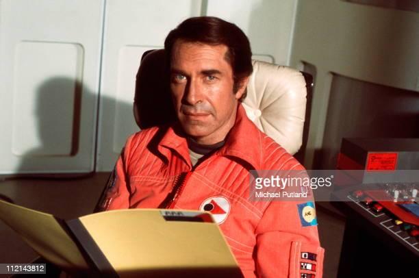 Actor Martin Landau in TV show 'Space1999' Series 2 USA 1977