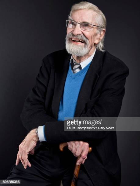 Actor Martin Landau photographed for NY Daily News on April 23 in New York City