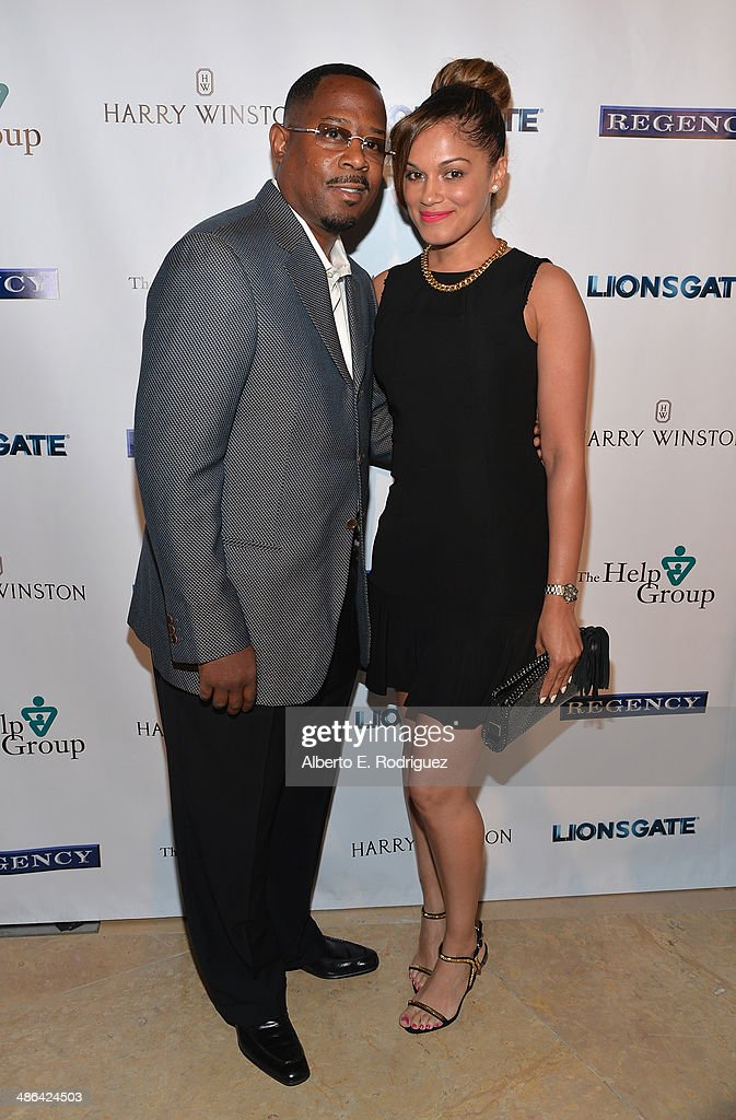 Actor Martin Lawrence and Roberta Moradfar atttend The Help Group's 17th Annual Teddy Bear Ball at The Beverly Hilton Hotel on April 23, 2014 in Beverly Hills, California.