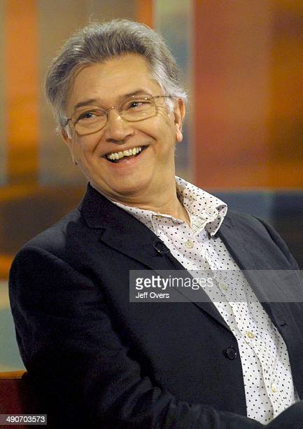 Actor Martin Shaw appearing on the BBC morning news and entertainment programme Breakfast
