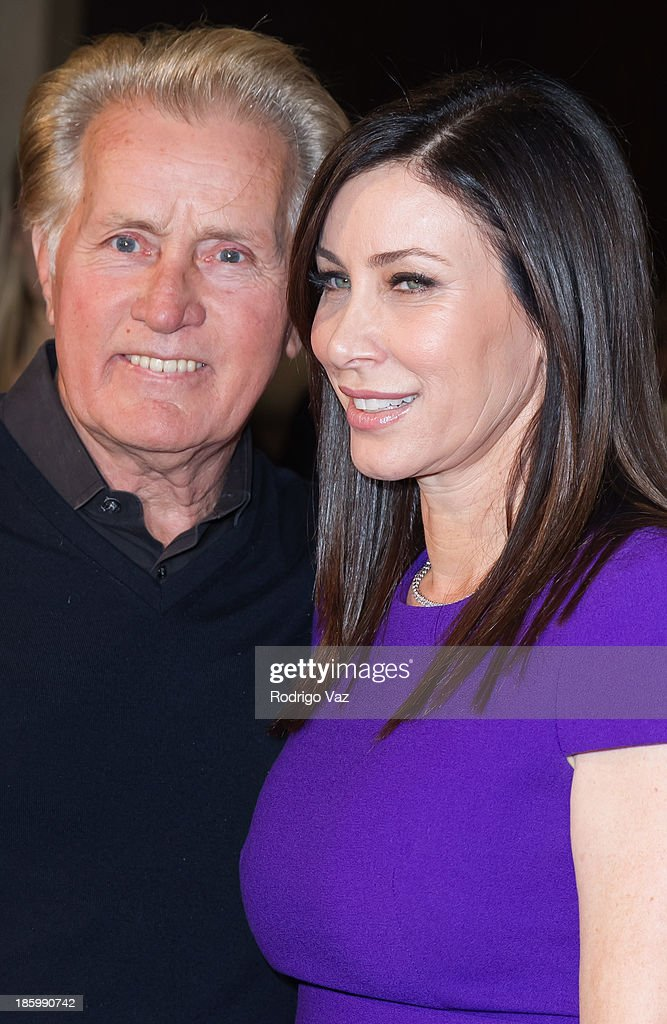 Actor <a gi-track='captionPersonalityLinkClicked' href=/galleries/search?phrase=Martin+Sheen&family=editorial&specificpeople=203224 ng-click='$event.stopPropagation()'>Martin Sheen</a> (L) and honoree Sydney Holland attend the Friendly House Los Angeles Annual Awards Luncheon at The Beverly Hilton Hotel on October 26, 2013 in Beverly Hills, California.