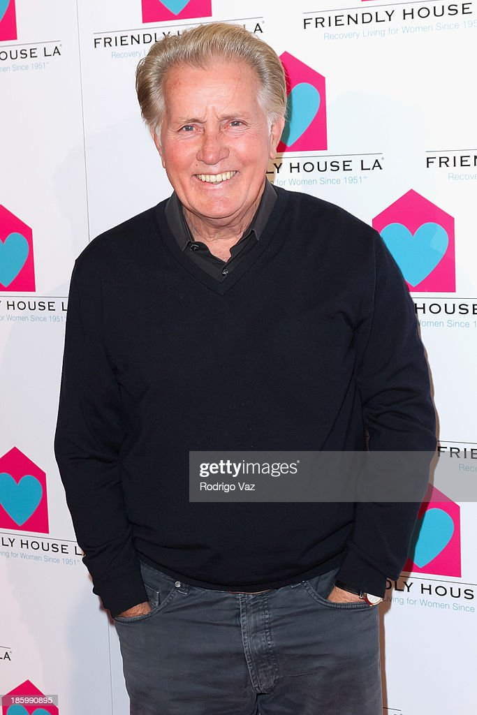 Actor <a gi-track='captionPersonalityLinkClicked' href=/galleries/search?phrase=Martin+Sheen&family=editorial&specificpeople=203224 ng-click='$event.stopPropagation()'>Martin Sheen</a> arrives at the Friendly House Los Angeles Annual Awards Luncheon at The Beverly Hilton Hotel on October 26, 2013 in Beverly Hills, California.