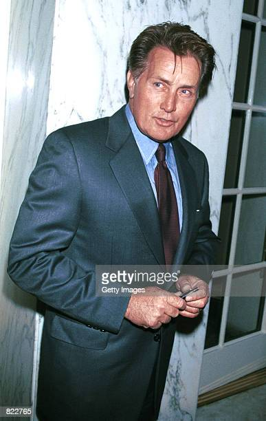 Actor Martin Sheen arrives at the Los Angeles chapter of Death Penalty Focus'' 10th Annual awards banquet April 4 2001 in Los Angeles CA DPF is the...